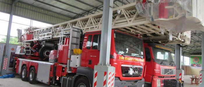 Procured of Turn Table Ladder (60 m) for FSCD
