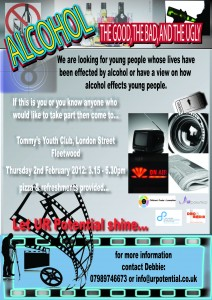 Alcohol Youth led project for Wyre