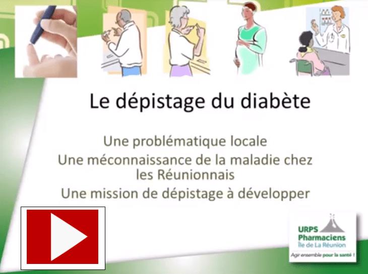 dépistage diabète image