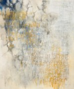Ursula Kolbe 2007 'Poet in the World: Morning I'. Oil, oil stick on canvas 120x100cm
