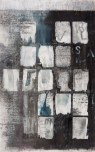 """""""Names, Faces, Memories"""" Mixed media on Arches 100 x 64cm"""