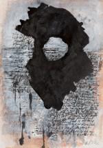 """Sense of Nightmare"" Gouache, ink on Arches 21cm x 14cm"