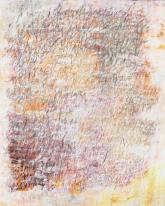 Ursula Kolbe 'Another Landscape I'. Acrylic, oil and oil stick on canvas 150x120cm