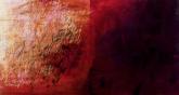 Ursula Kolbe 'Desiderata II'. Oil and oil stick on canvas 60x120cm
