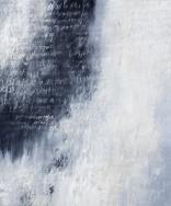 Ursula Kolbe 'Song of Nostalgia'. Oil and oils stick on canvas 120x100cm