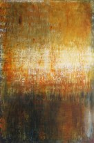 Ursula Kolbe 'Of What is Past or Passing or to Come'. Oil on canvas