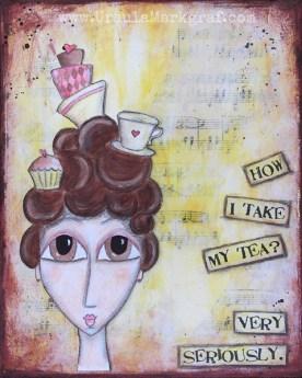 Mrs. Tea - SOLD