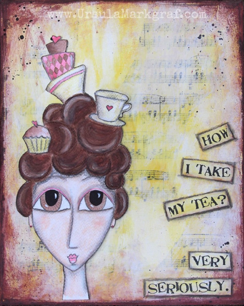 Mrs. Tea - SOLD