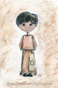 Little boy ... out of my sketchbook