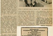Życie Warszawy z 16 września 1977 o trudnym życiu na osiedlu 9 miesięcy po zasiedleniu.