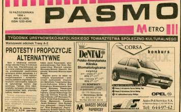 Pasmo, 18 października 1996 r.