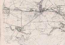 Karta okresnostiej Warszawy, 1836-1860. Mapa okolic Warszawy z archiwum Wojskowego Instytutu Geograficznego - daty według opisu WIG. Nadesłał Michał Duraj.