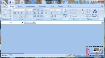 Excel / Word Opens But No Table Grid, Numbers or Text Appear – Up