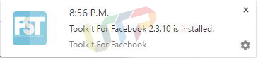 Toolkit for Facebook 2.3.10 installed