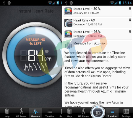 Instant Heart Rate Best Android Fitness Apps