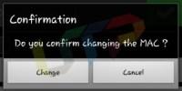 Android Change MAC Address