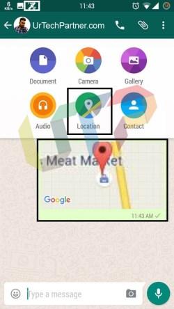 whatsapp spoof location sender app