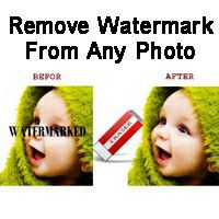 how to remove watermark from photos