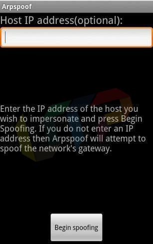 arpspoof hack wifi in android for access free internet