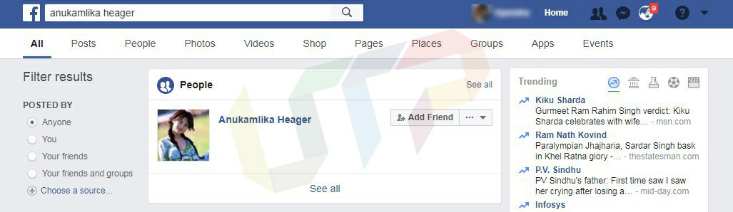 identify if facebook account is real or fake