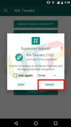 Download WA Tweaks Latest Version Apk For Android