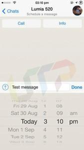 WhatsApp Message Scheduler