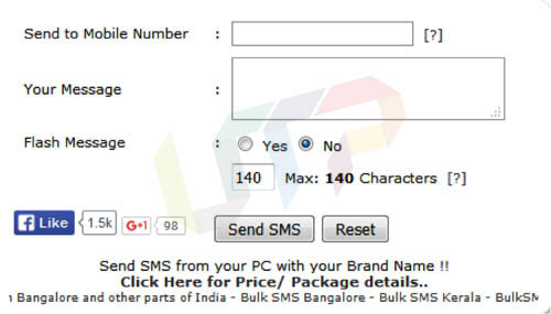 send anonymous text SMS