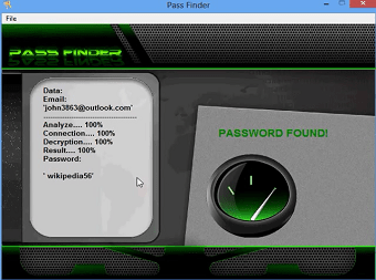 With PASS FINDER, hack Facebook and Messenger password