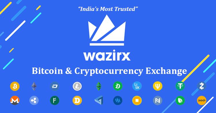 WazirX - India's Best Cryptocurrency Exchange