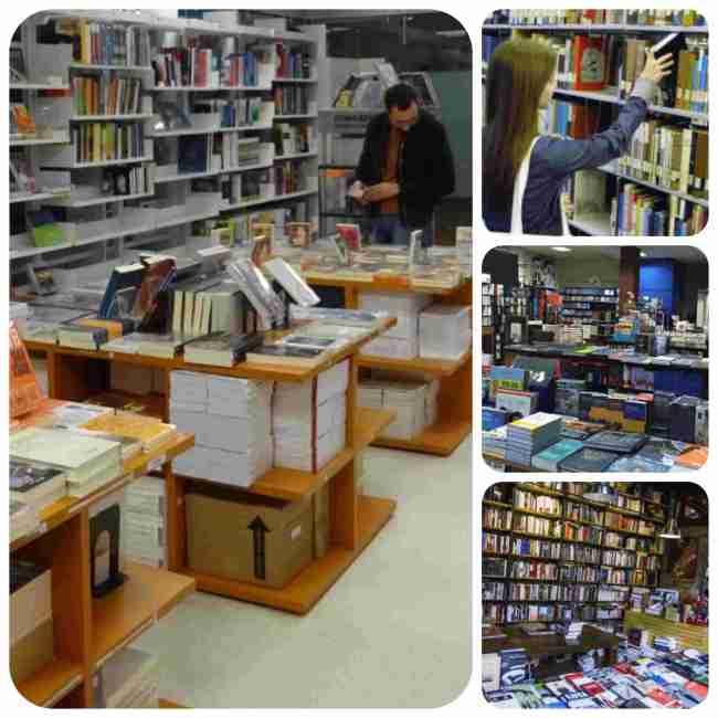 librerías en Montevideo