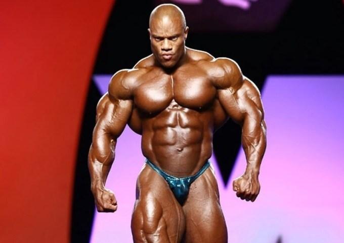 philip heath merupakan atlet binaraga dunia yang berhasil memenangkan 4 kali juara mr olympia