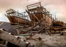 kapal bekas bisa dipotong dan dijadikan harga besi scrap yang sangat mumpuni