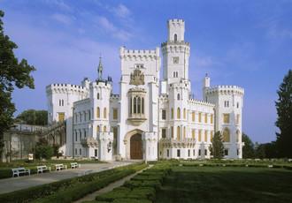 Глубоко над Влтавой. Прекрасный чешский королевский замок