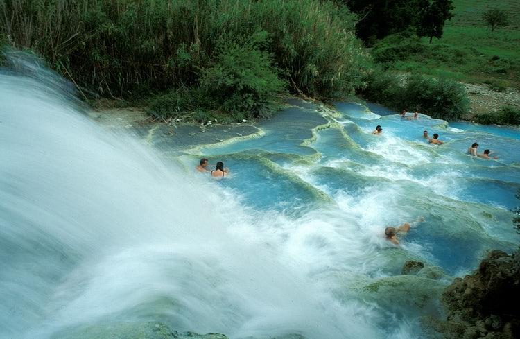 Термальные воды в Сатурнии. Итальянская Тоскана