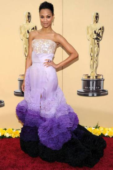 2010Academy Awards in a Givenchy Couture gown.