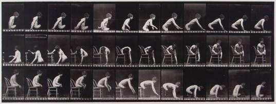 Muybridge Plate 538 (Double amputation of thighs, boy)