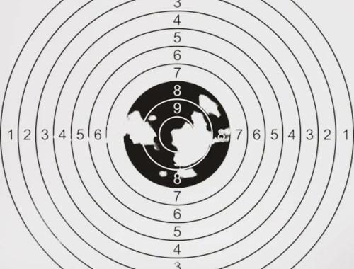 Tarcza strzelnicza, cel biegowy