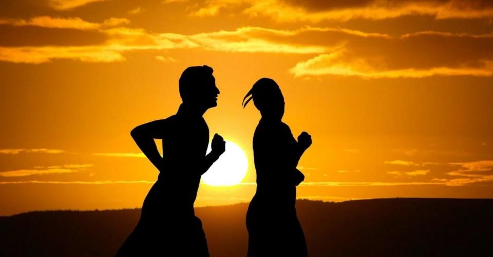 bieganie o zachodzie słońca, night runners