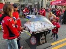 Bubble hockey!