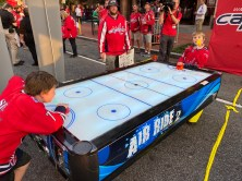 Air hockey!