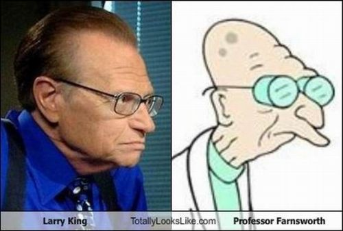 larry king professor farnsworth