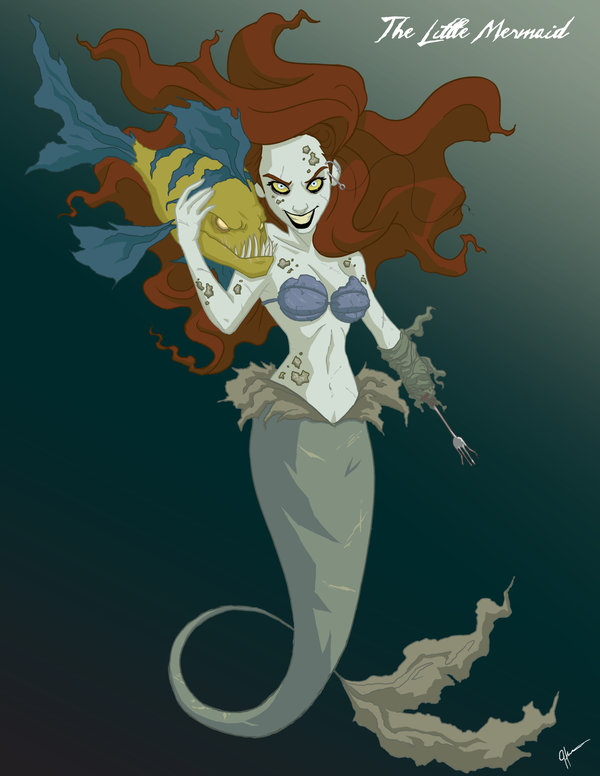 twisted little mermaid