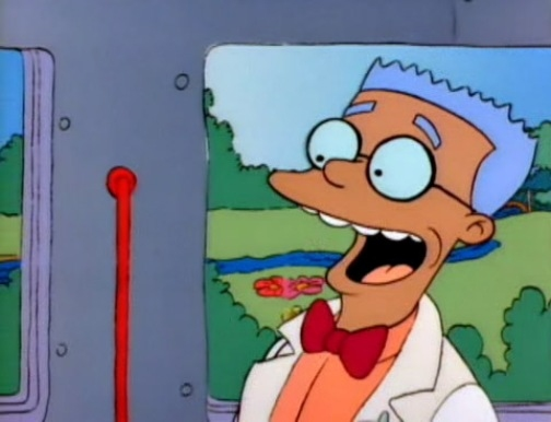 Mr Smithers of the simpsons