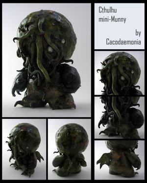Cthulhu Munny Dets by Cacodaemonia