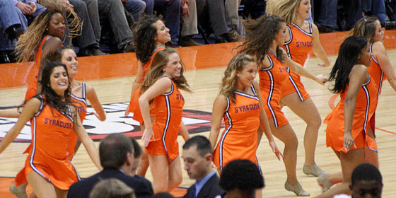 Syracuse Cheerleaders