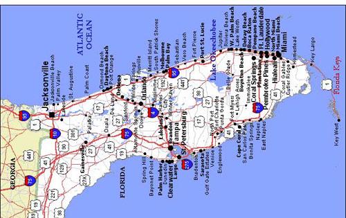 Florida Map Teacher