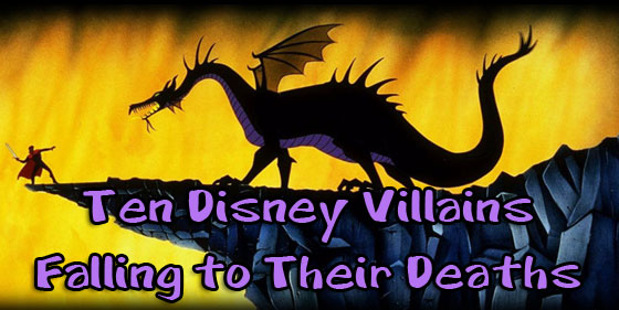 disney falling deaths villains