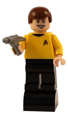 lego captain kirk star trek