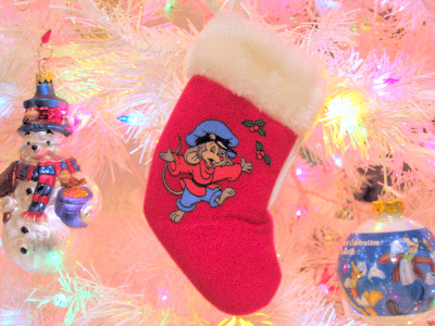 An American Tail McDonalds stocking