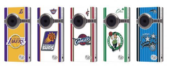 NBA Flip Camcorder family 2